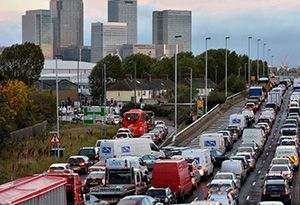 image: UK T Charge congestion London Mayor Tfl clean air zones road haulage association RHA