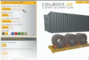 image: CakeBoxx, technologies, shipping, container, deck and lid, box, design, security,