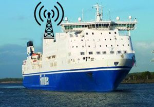 image: SpeedCast RoRo ferries merchant shipping Wideband Interactive Networks via Satellites maritime broadband MSC Cruises Grimaldi Finnlines