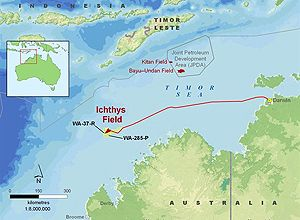 image: SDV project freight forwarding agent logistics Ichthys LNG