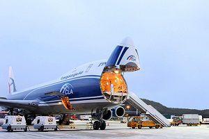 image: UK CLA 747 Dubai CargoLogicAir air freight cargo Tel Aviv