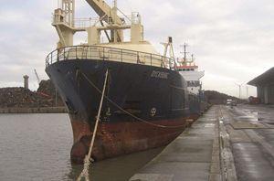 image: UK Ukraine freighter cargo dwt coastguard