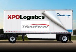 image: Canada Con-way XPO logistics road haulage truckload transport