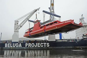 image: Germany project forwarder shipping line out of gauge goods heavy lift ferry