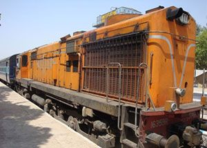 image: India rail freight cargo road trucks inter modal multimodal goods