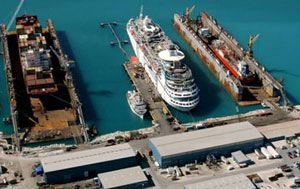 image: Bahamas freight agency logistics crude oil shipping