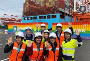 image: Denmark, Maersk, ITF, ICSTI, VICT, shipping, line, container, terminal, union,