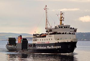 image: Scottish ministers UK freight passenger ferry service RoRo CalMac Serco