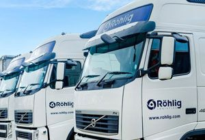 image: UK R�hlig Logistics freight forwarding road haulage operator Eclipse Container