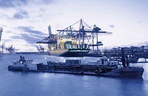 image: Switzerland Panalpina air freight cargo down