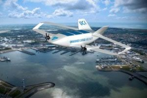 image: Italy Unmanned Cargo Aircraft air freight cargo autonomous modes supply chain logistics