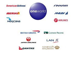 image: Oneworld air freight carrier cargo handler