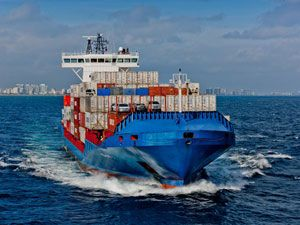 image: US Caribbean ocean freight container shipping FCL LCL