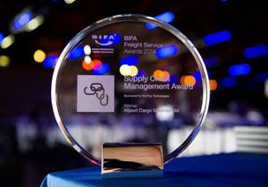 image: BIFA shipping and freight forwarding logistics Awards the Brewery Chiswell Street London