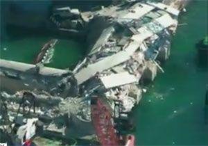 image: Italy RoRo container shipping oil terminal freight Genoa MV Jolly Nero