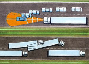 image: Con-way freight road haulage less than truckload logistics