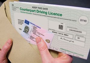 image: UK road haulage driving licence changes operators DVLA photocard driver CPC