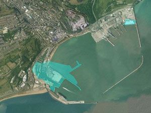 image: Dover Harbour Board UK freight import export logistics RoRo ferry