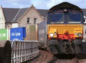 image: Rail Freight Group Inter City Express Scotland logistics supply chain cargo