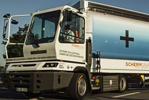 image: Germany Netherlands BMW SCHERM logistics Terberg tonne truck