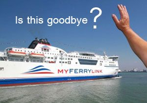 image: UK France RoRo freight ferry cross channel Eurotunnel MyFerryLink SeaFrance