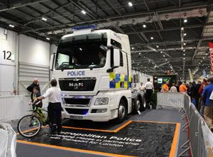 image: UK road haulage blind spots cyclists HGVs Crossrail