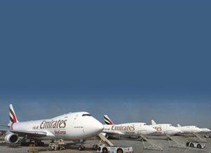 image: Dubai Emirates SkyCargo million tonnes freight road haulage cargo Al Maktoum