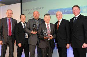 image: UK commercial vehicle award Mercedes van Ciceley