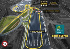 image: France UK secure driver freight road haulage migrant Calais parking truck vehicles Dover lorries