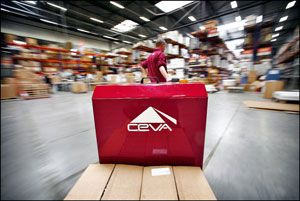 image: Panama Ceva logistics supply chain management metres pallet