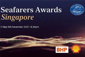 image: Singapore, UK, seafarers, maritime, awards, Mission, charity