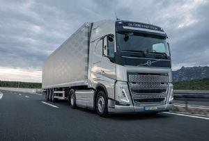 image: Lithuania, Volvo, truck, road, haulage logistics, Girteka, FH, HGVs,