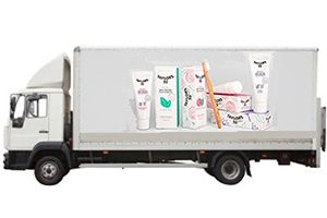 image: UK Taylor�s 32 logistics freight toothpaste Waitrose distribution