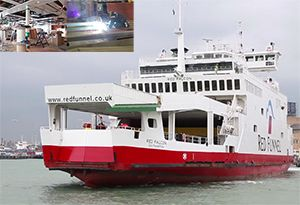 image: Red Funnel UK upgrade RoPax freight passenger