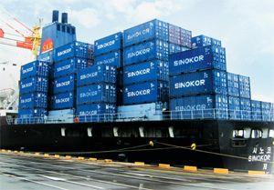 image: Korea HMM Hanjin freight container Heung-A Shipping Sinokor Merchant Marine
