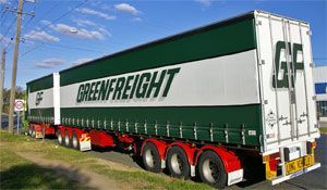image: Denby infrastructure rail freight road haulage cargo RFID
