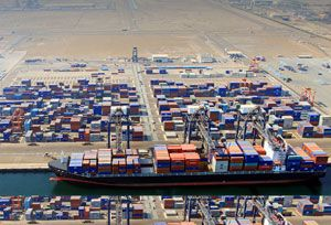 image: Sohar Oman Hutchison Port Holdings Limited (HPH) Group container freight TEU international terminal Steinweg