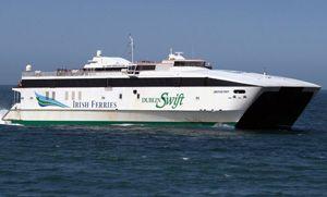 image: Ireland RoRo ferry container freight feeder line