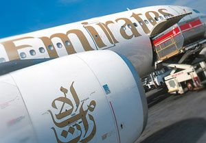 image: Emirates SkyCargo freight forwarding air cargo fuel surcharges all in pricing
