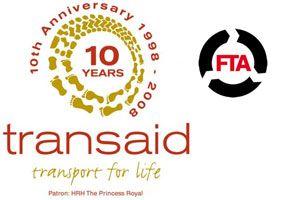 image: UK freight transport truck HGV Princess Royal HRH Transaid charity vehicle maintenance