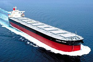 image: Rio Tinto MOL shipping Baltic Dry Index