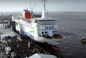 image: Sweden Denmark Kattegat freight RoRo route service Stena Line
