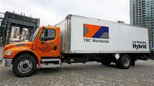 image: Arrow YRC LTL truck trucking freight cargo