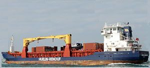 image: LCL FCL Alderney Jersey Guernsey sea freight out of gauge container crane bonded warehouse
