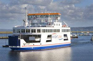image: Wight RoRo ferry freight ships vessels environment
