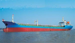 image: US New York Baltic trading crude carrier bulk container shipping oil tanker