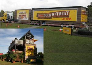 image: Australia XXXX Gold Retreat road haulage operator freight trucking NTC ATA