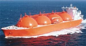 image: Mitsui MOL ship LNG bulk crude oil tanker shipping container
