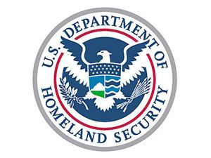 image: US air freight Transport Security Administration forwarder forwarding cargo Department of Homeland Security train truck fork lift
