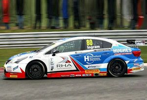 image: UK RHA road haulage driver shortage freight logistics HGV 2015 British Touring Car Championships